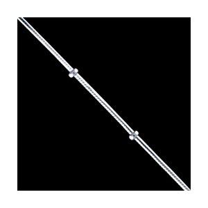 Řetízek stříbrný, chain/bead