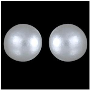 Náušnice stříbrné, perličky